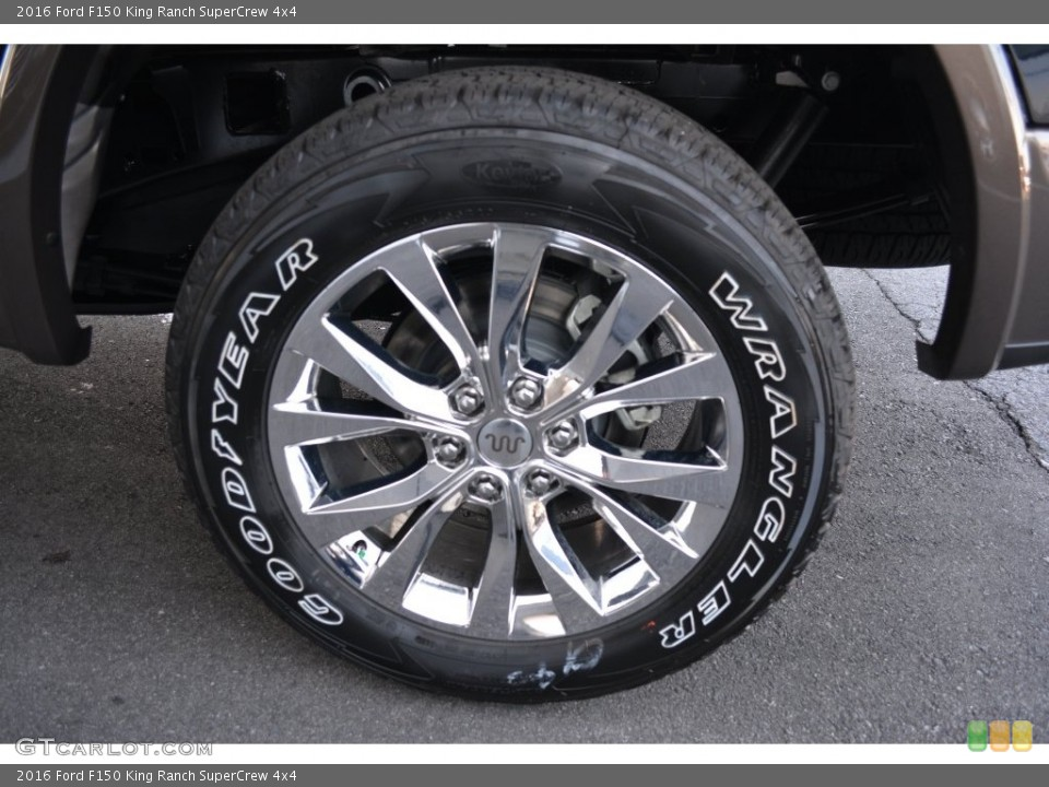 2020 Ford F150 King Ranch SuperCrew 4x4 Wheel and Tire Photo ...
