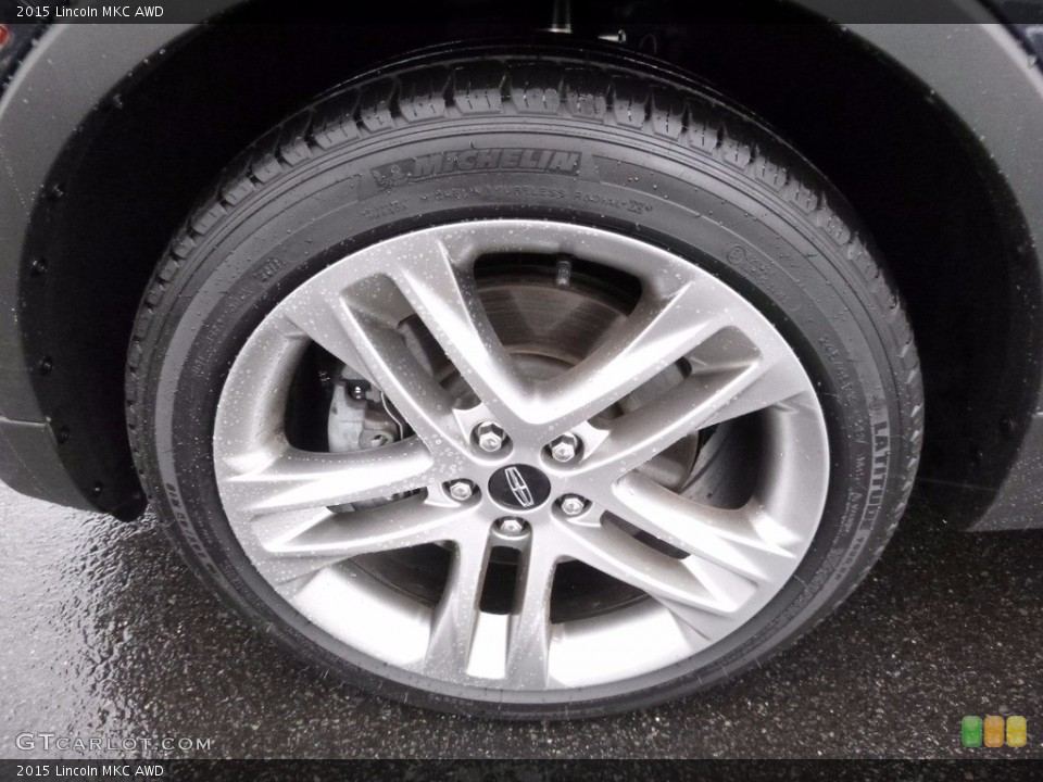 2015 Lincoln MKC AWD Wheel and Tire Photo #111054179