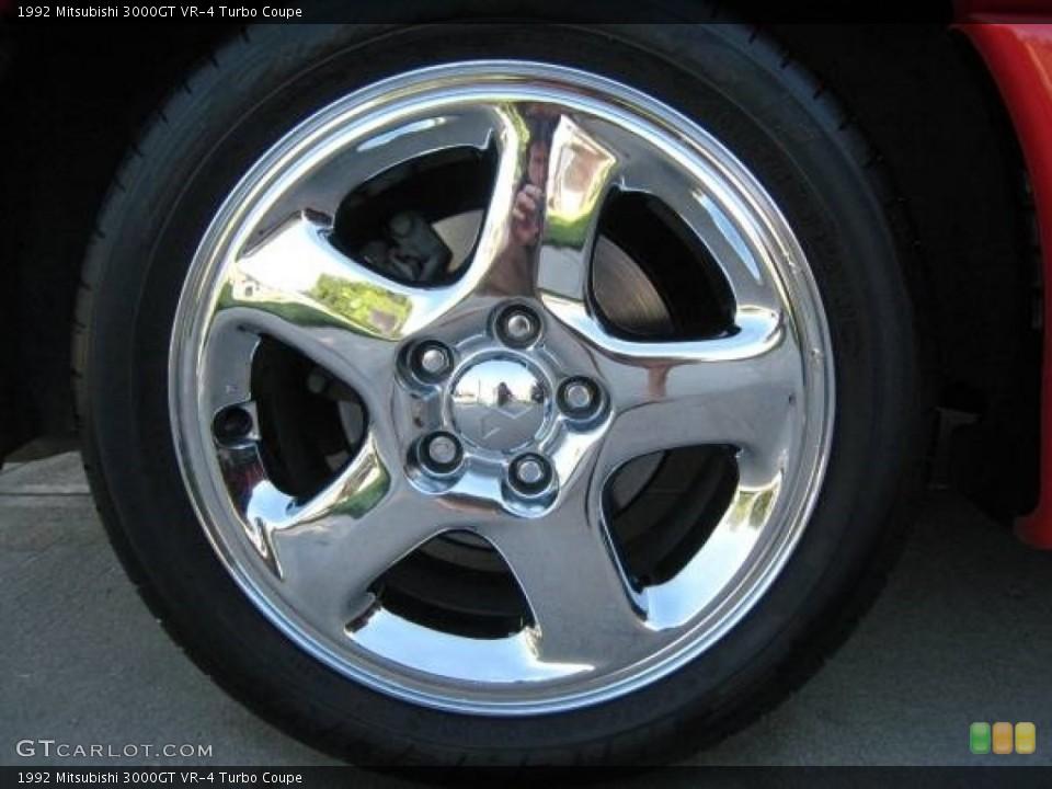 1992 Mitsubishi 3000GT Wheels and Tires