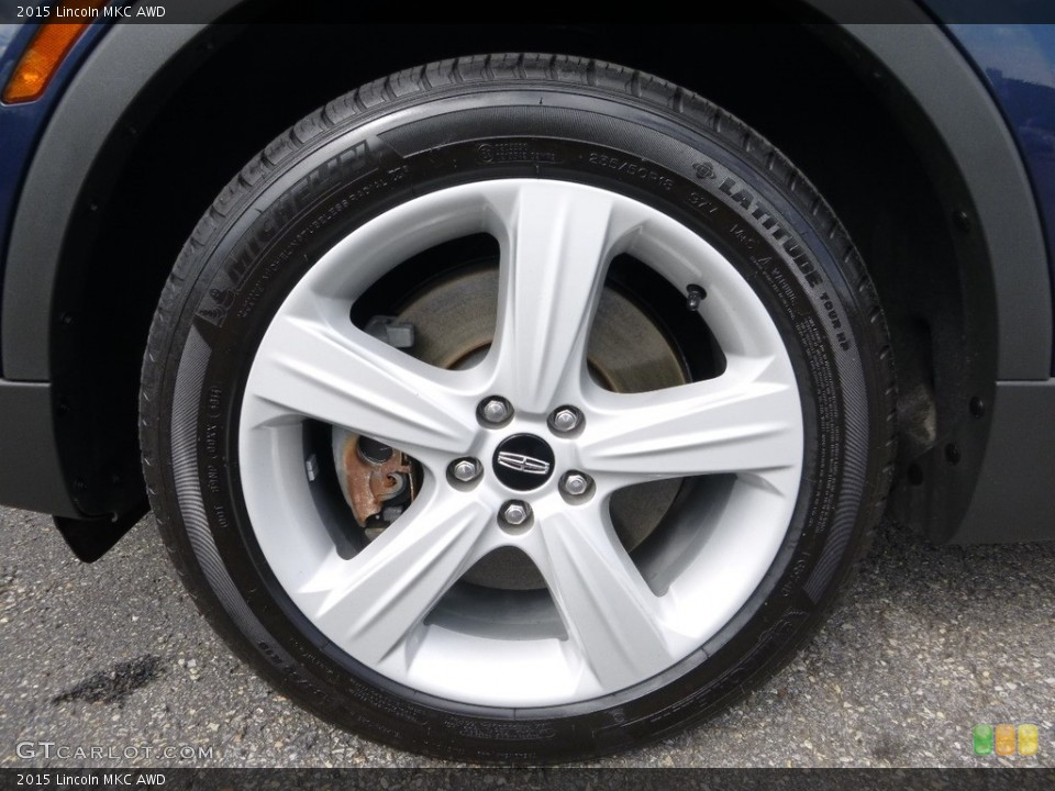 2015 Lincoln MKC AWD Wheel and Tire Photo #114006826