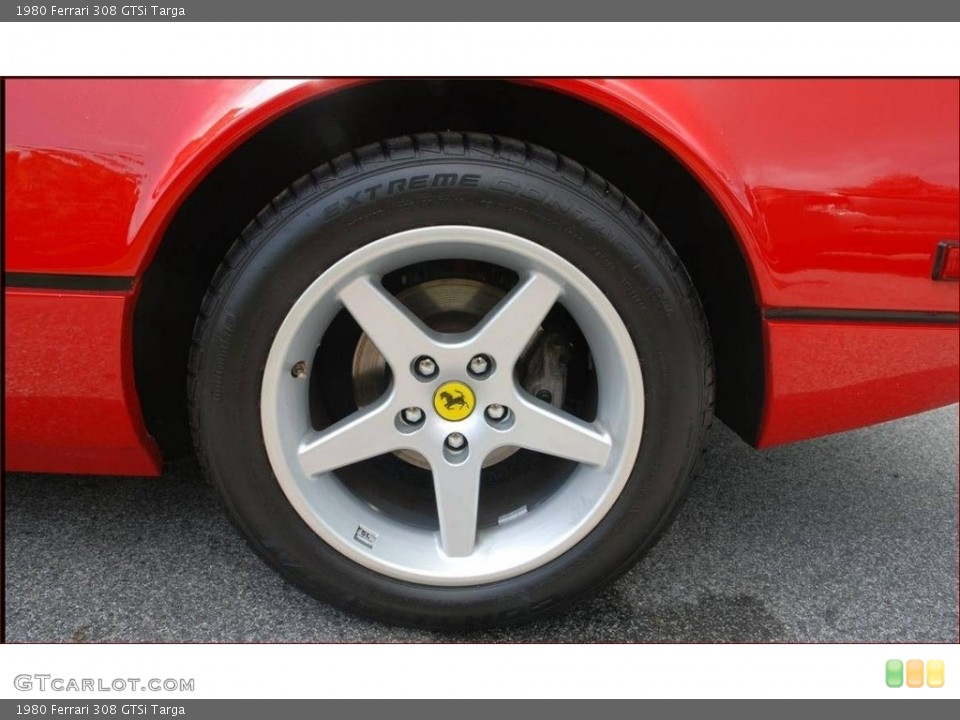 1980 Ferrari 308 GTSi Wheels and Tires