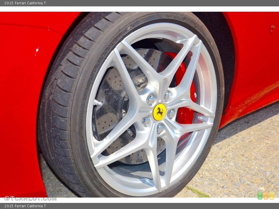 2015 Ferrari California T Wheel and Tire Photo #115063455