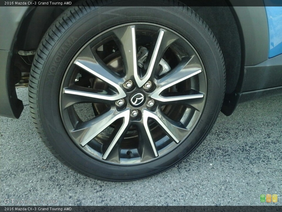 2016 Mazda CX-3 Wheels and Tires
