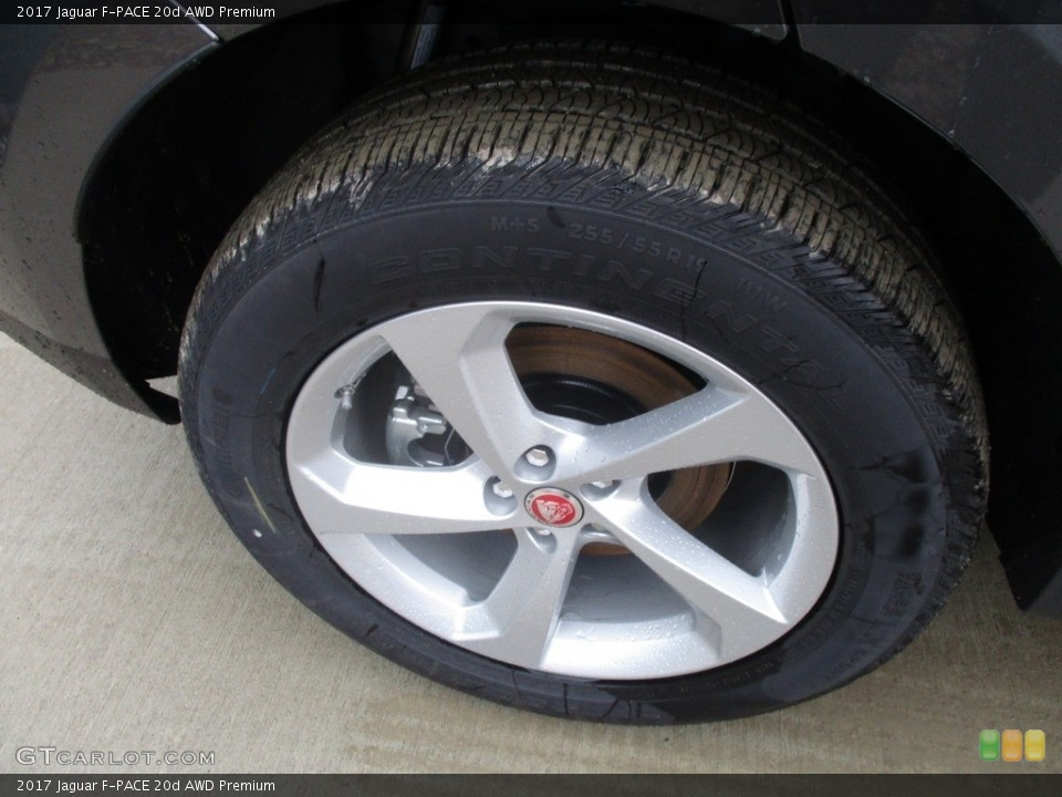 2017 Jaguar F-PACE Wheels and Tires