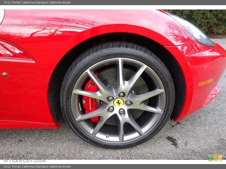 2012 Ferrari California Wheels and Tires