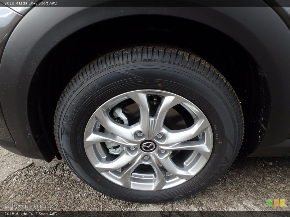 2018 Mazda CX-3 Wheels and Tires