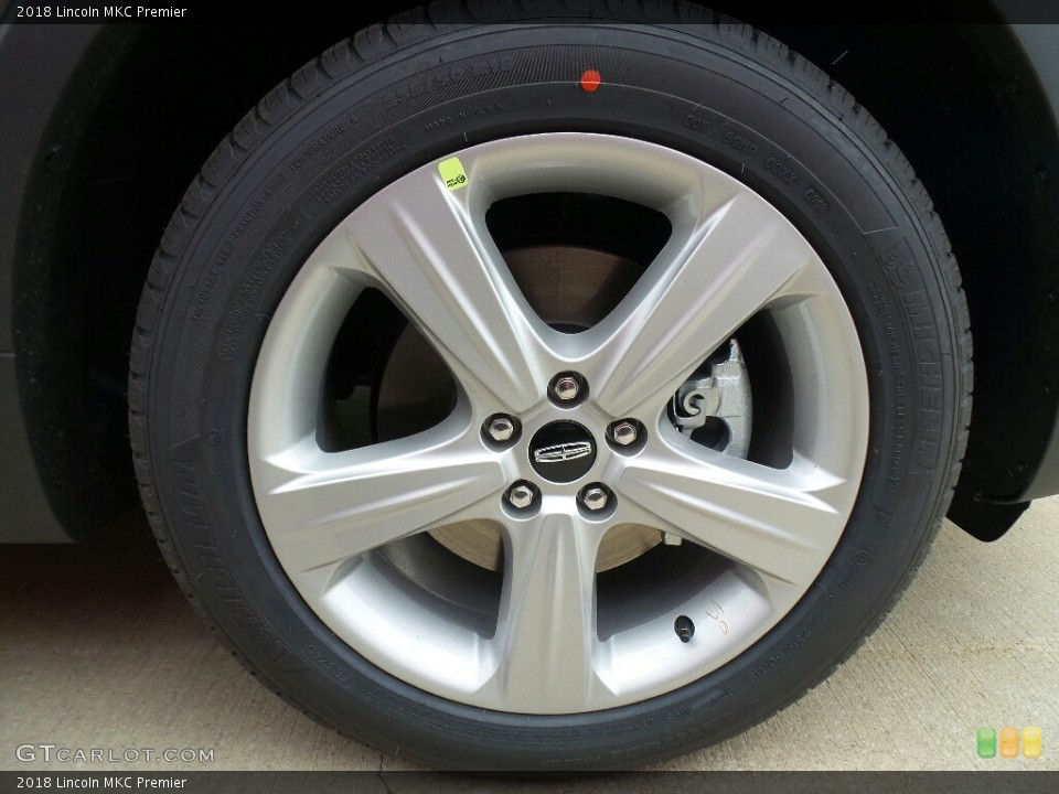 2018 Lincoln MKC Wheels and Tires