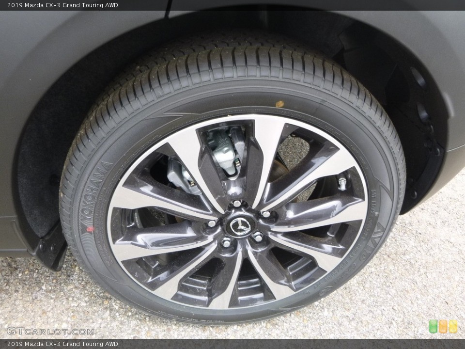2019 Mazda CX-3 Wheels and Tires