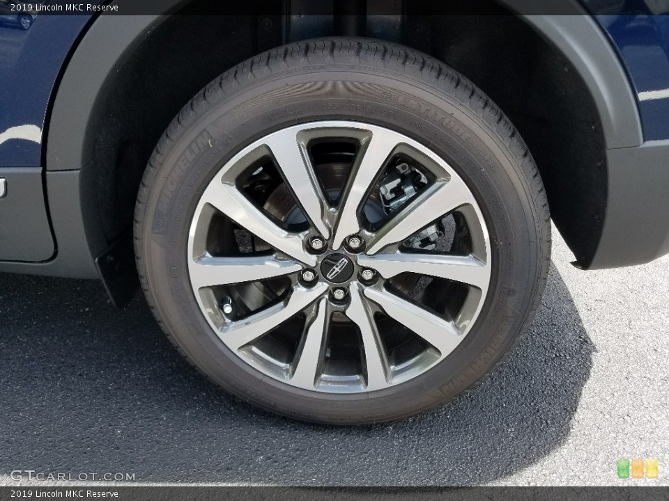 2019 Lincoln MKC Wheels and Tires