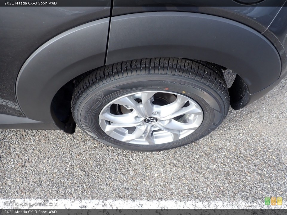 2021 Mazda CX-3 Wheels and Tires