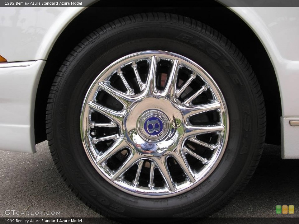 1999 Bentley Azure Wheels and Tires