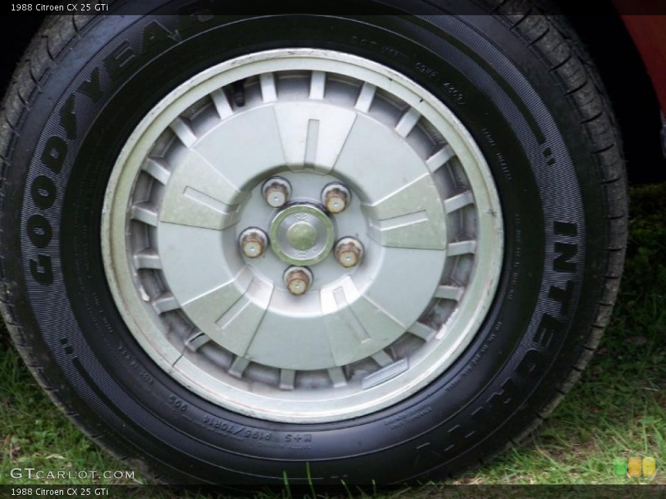 1988 Citroen CX Wheels and Tires