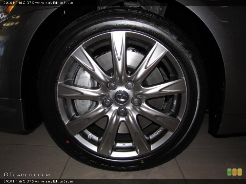 2010 Infiniti G Wheels and Tires