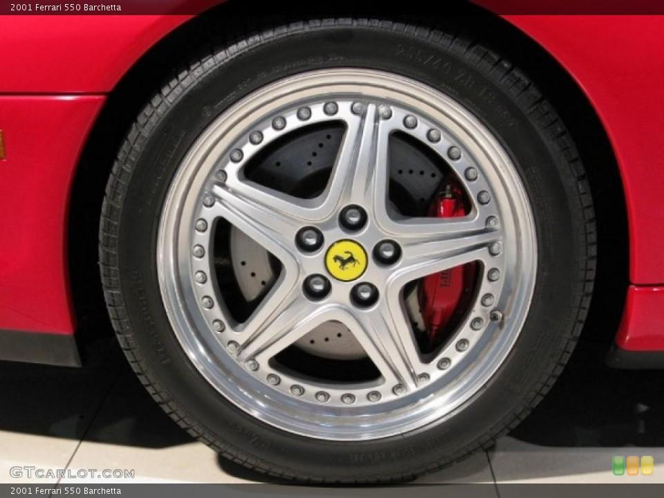 2001 Ferrari 550 Wheels and Tires