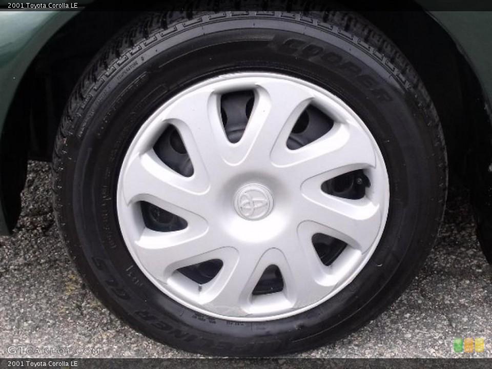 2001 Toyota Corolla le Black 2001 Toyota Corolla Wheels And