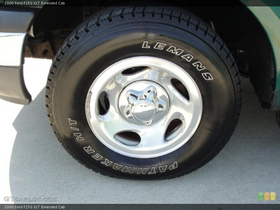 2000 Ford F150 XLT Extended Cab Wheel and Tire Photo #38122359