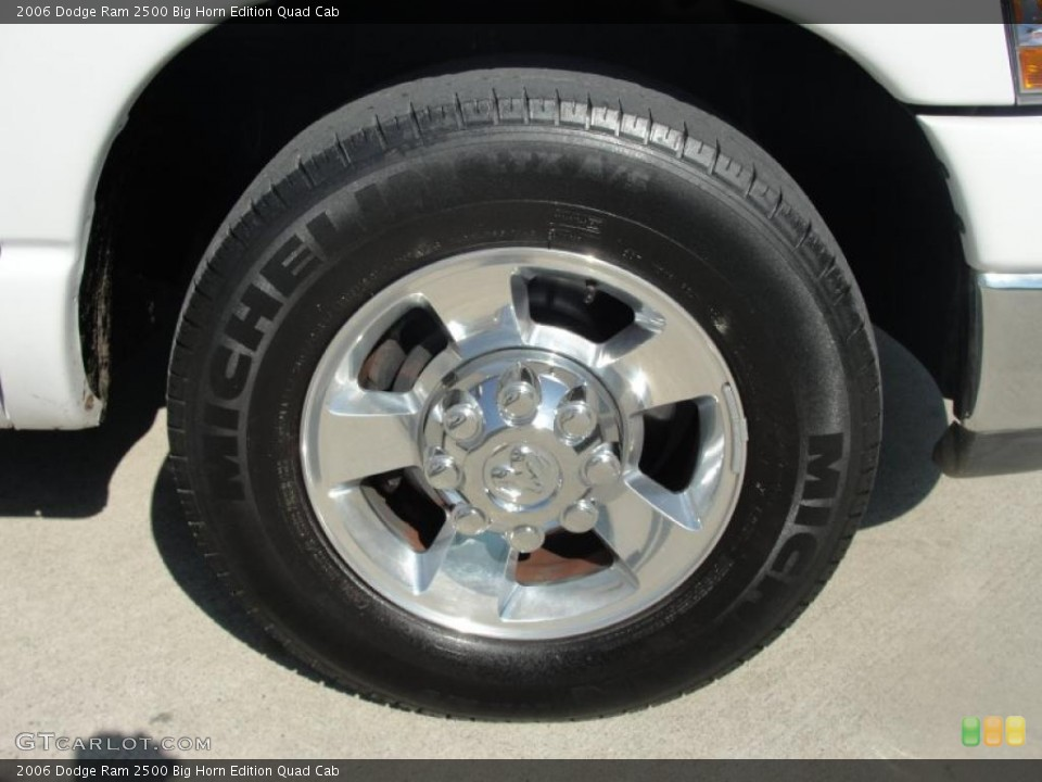 2006 Dodge Ram 2500 Wheels and Tires
