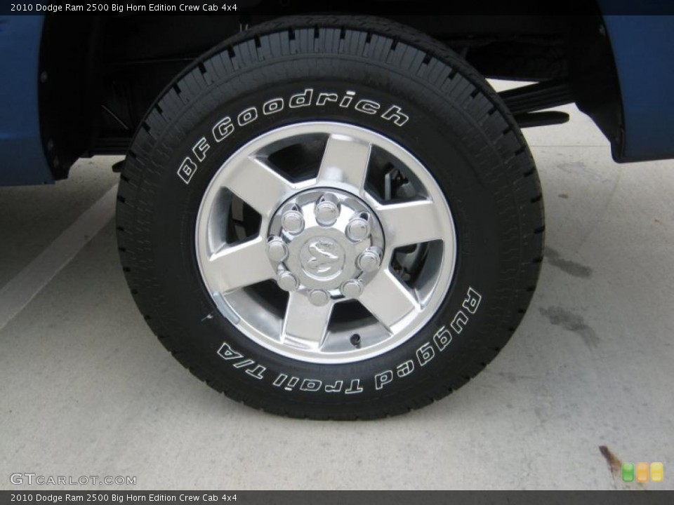 2010 Dodge Ram 2500 Wheels and Tires