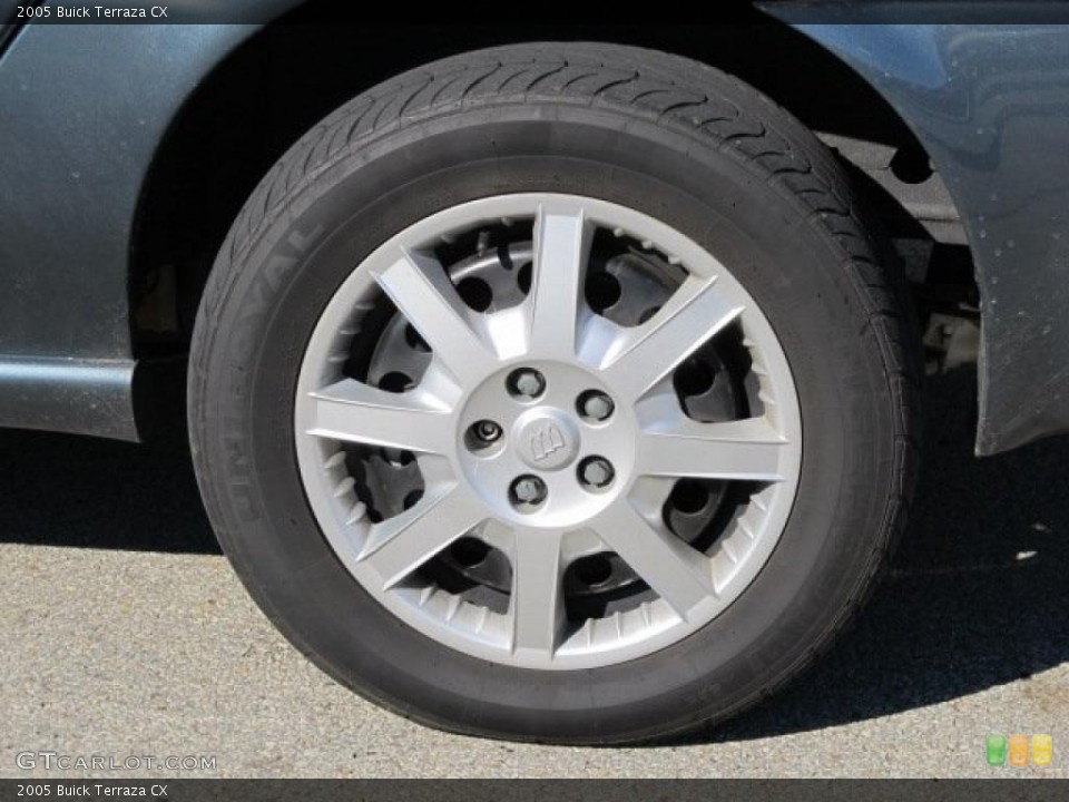 2005 Buick Terraza Wheels and Tires