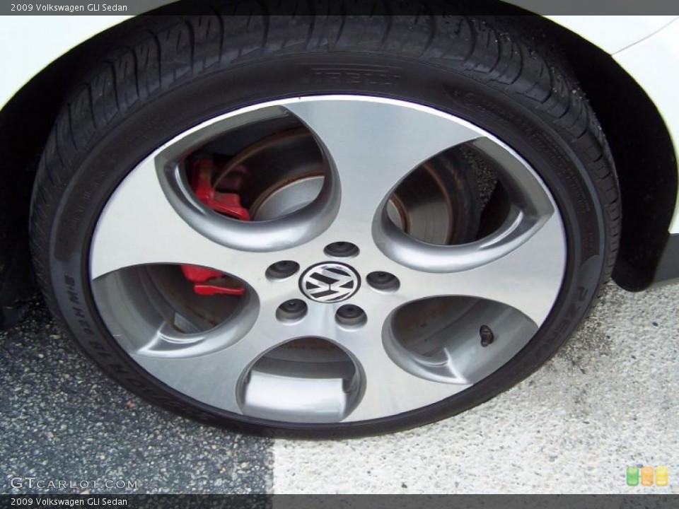 2009 Volkswagen GLI Sedan Wheel and Tire Photo #39194908