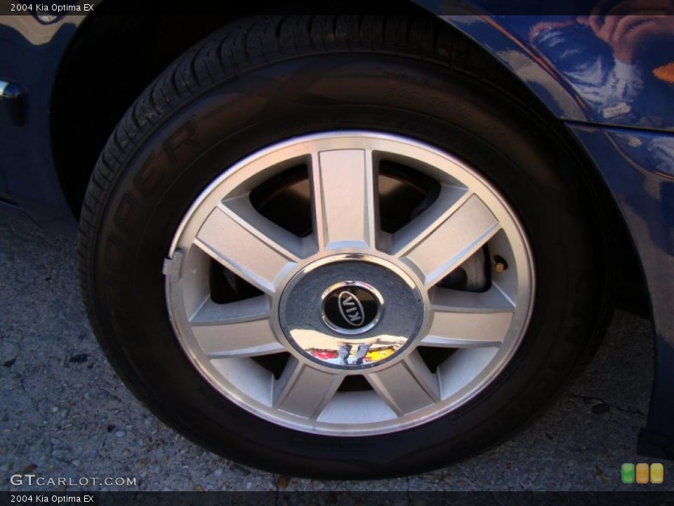 2004 Kia Optima Wheels and Tires