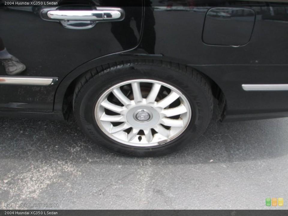 2004 Hyundai XG350 L Sedan Wheel and Tire Photo #39886808