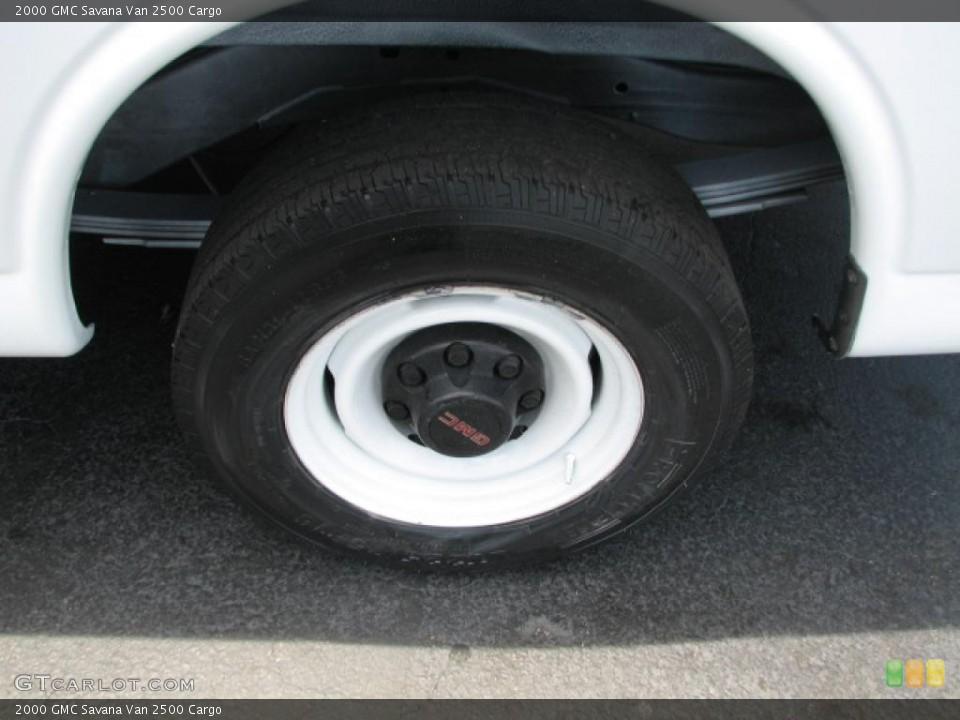 2000 GMC Savana Van 2500 Cargo Wheel and Tire Photo #39888352