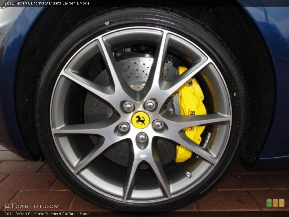 2011 Ferrari California  Wheel and Tire Photo #39947834