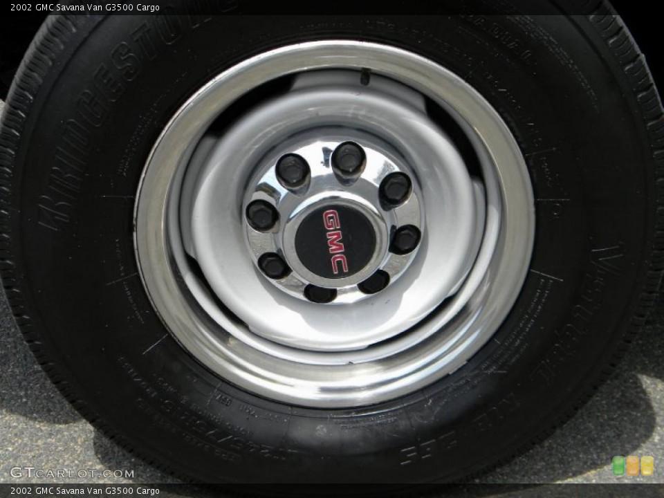 2002 GMC Savana Van Wheels and Tires