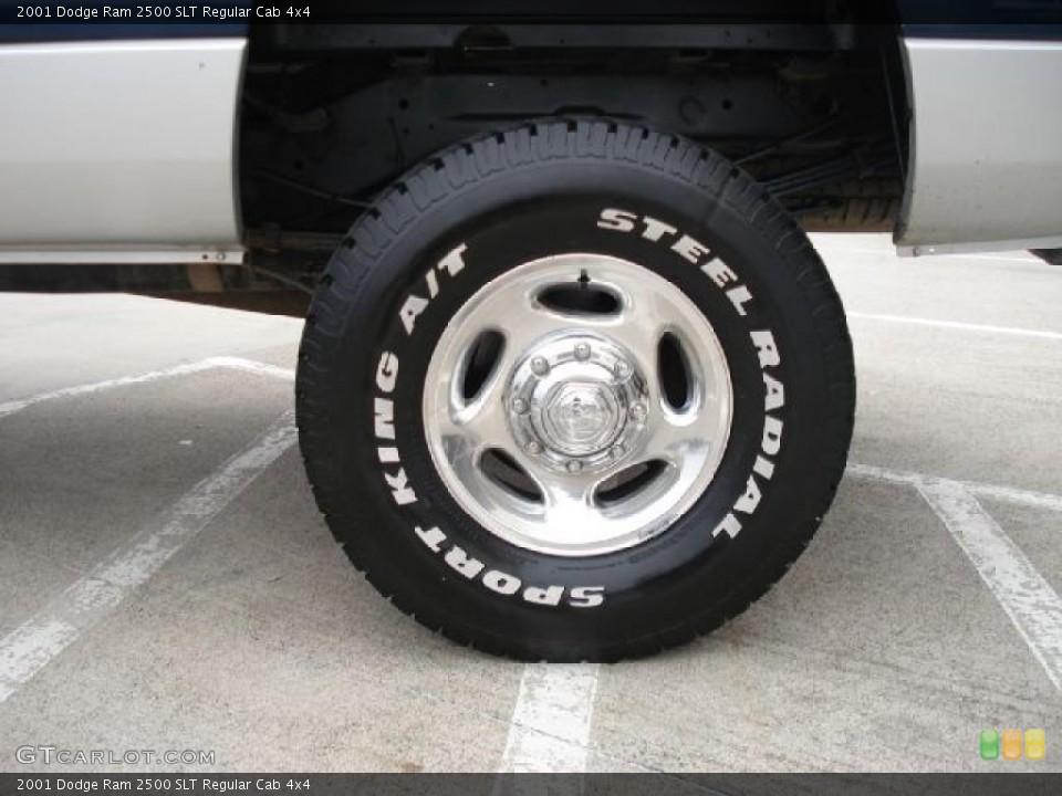 2001 Dodge Ram 2500 SLT Regular Cab 4x4 Wheel and Tire Photo #40813023
