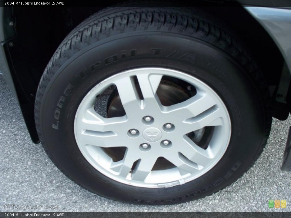 2004 Mitsubishi Endeavor LS AWD Wheel and Tire Photo #41279201