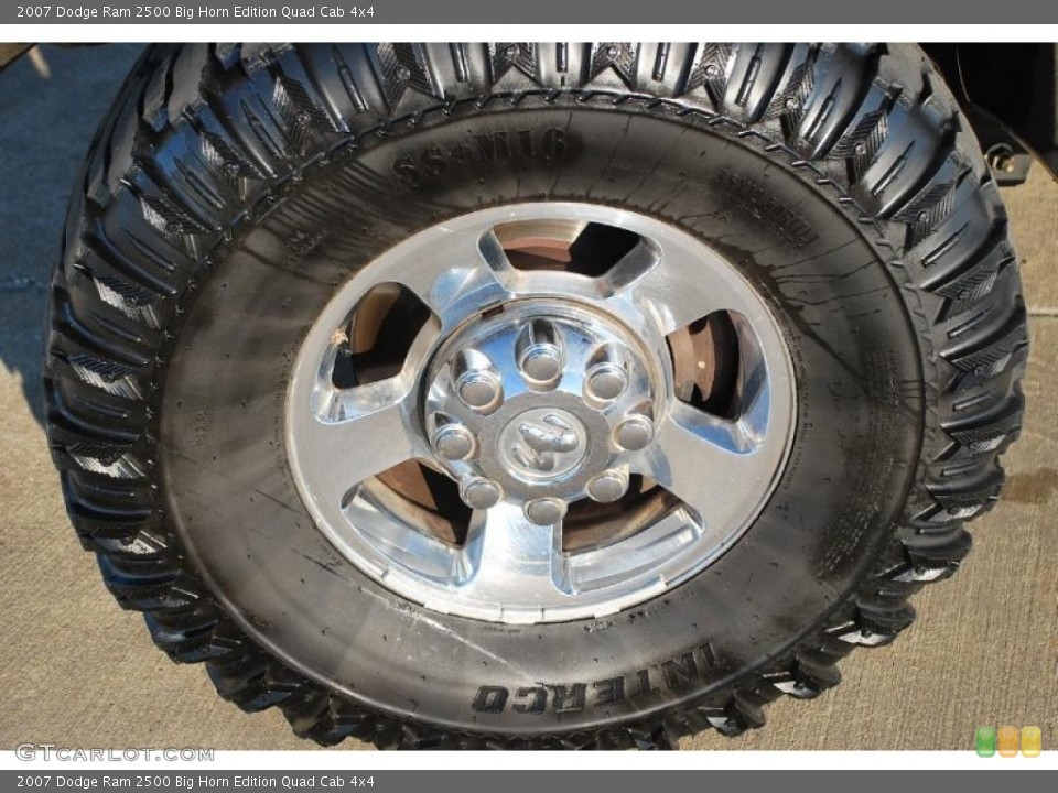 2007 Dodge Ram 2500 Wheels and Tires