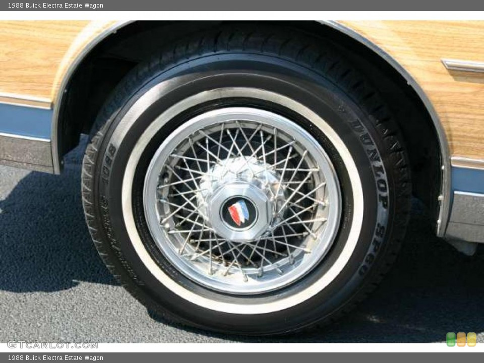 1988 Buick Electra Wheels and Tires