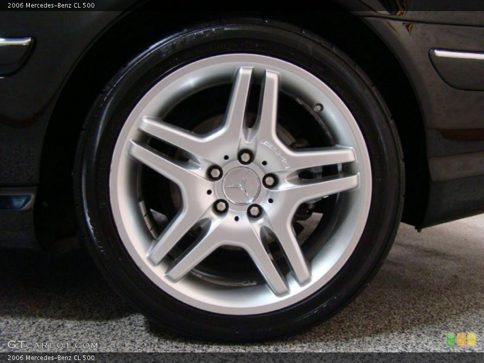 2006 Mercedes-Benz CL Wheels and Tires