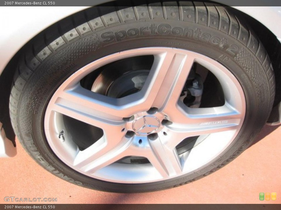 2007 Mercedes-Benz CL Wheels and Tires