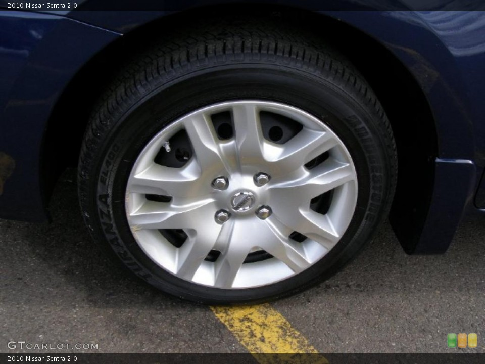 2010 Nissan Sentra Wheels and Tires