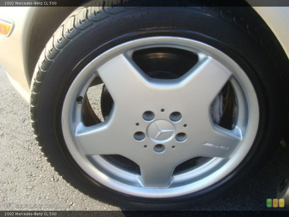 2002 Mercedes-Benz CL Wheels and Tires