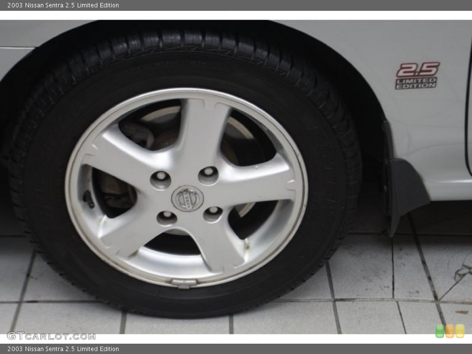 2003 Nissan Sentra Wheels and Tires