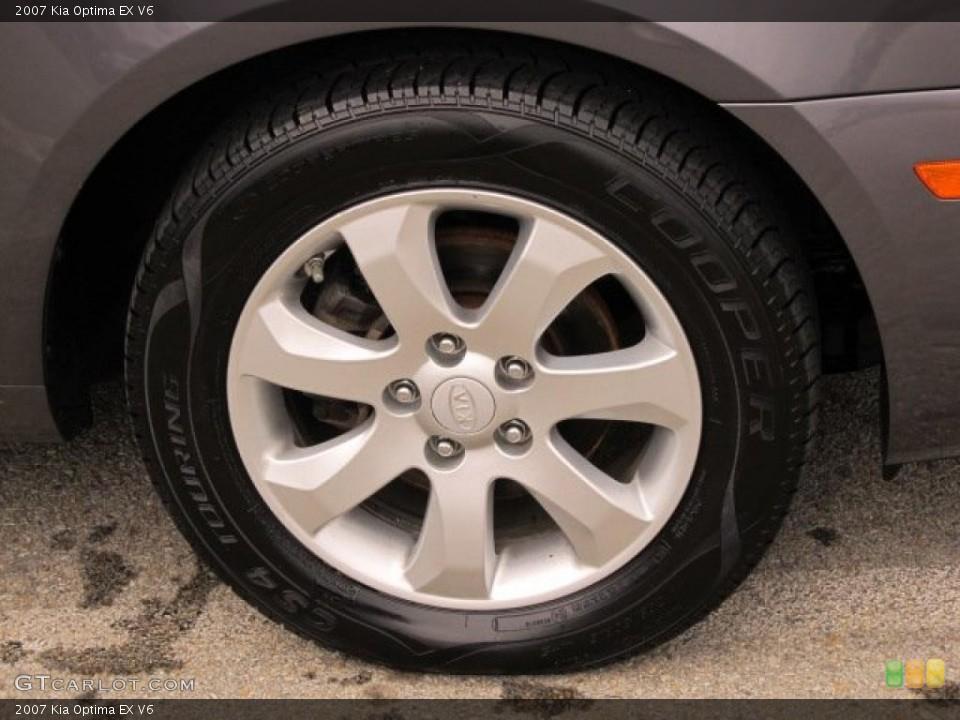 2007 Kia Optima Wheels and Tires