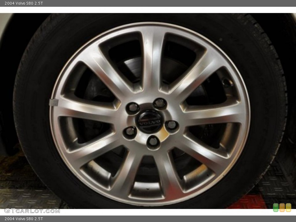 2004 Volvo S80 Wheels and Tires