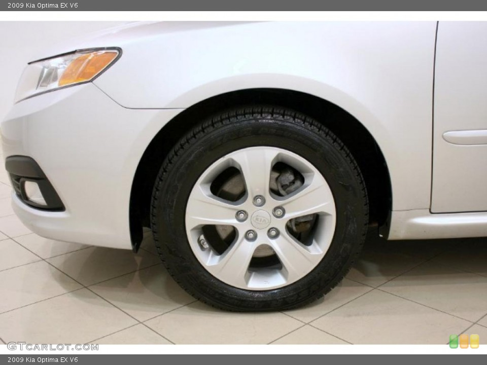 2009 Kia Optima Wheels and Tires