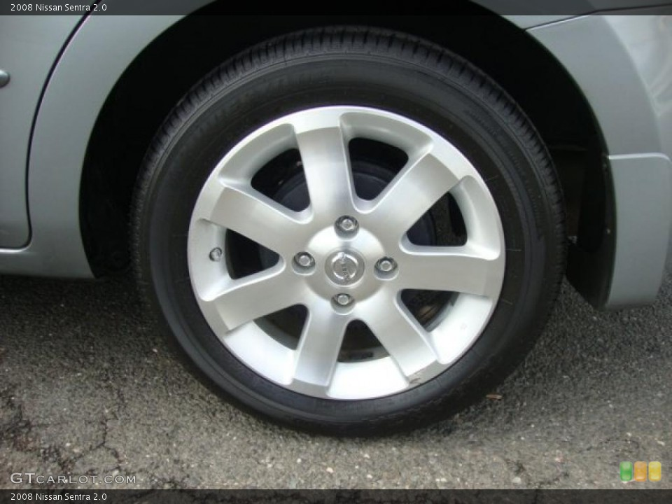 2008 Nissan Sentra Wheels and Tires