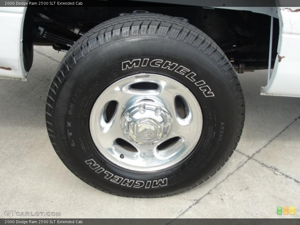 2000 Dodge Ram 2500 Wheels and Tires