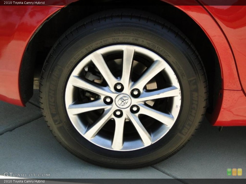 2010 toyota camry hybrid wheel and tire photo 49006914. Black Bedroom Furniture Sets. Home Design Ideas