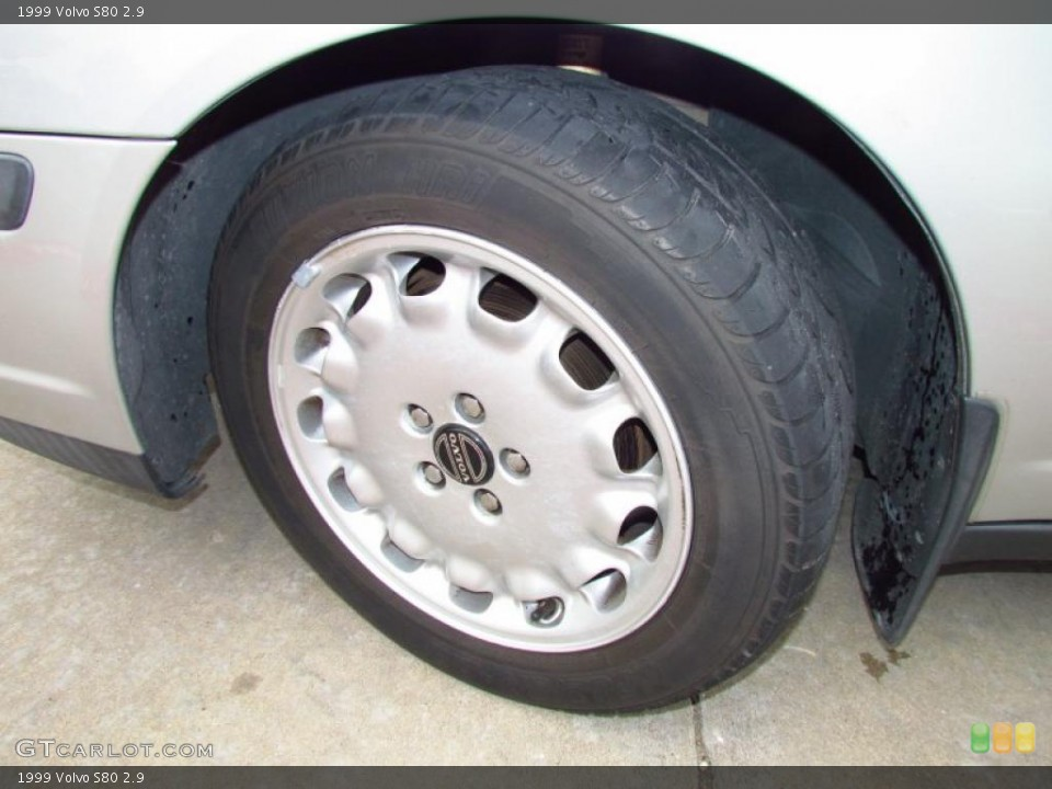 1999 Volvo S80 Wheels and Tires