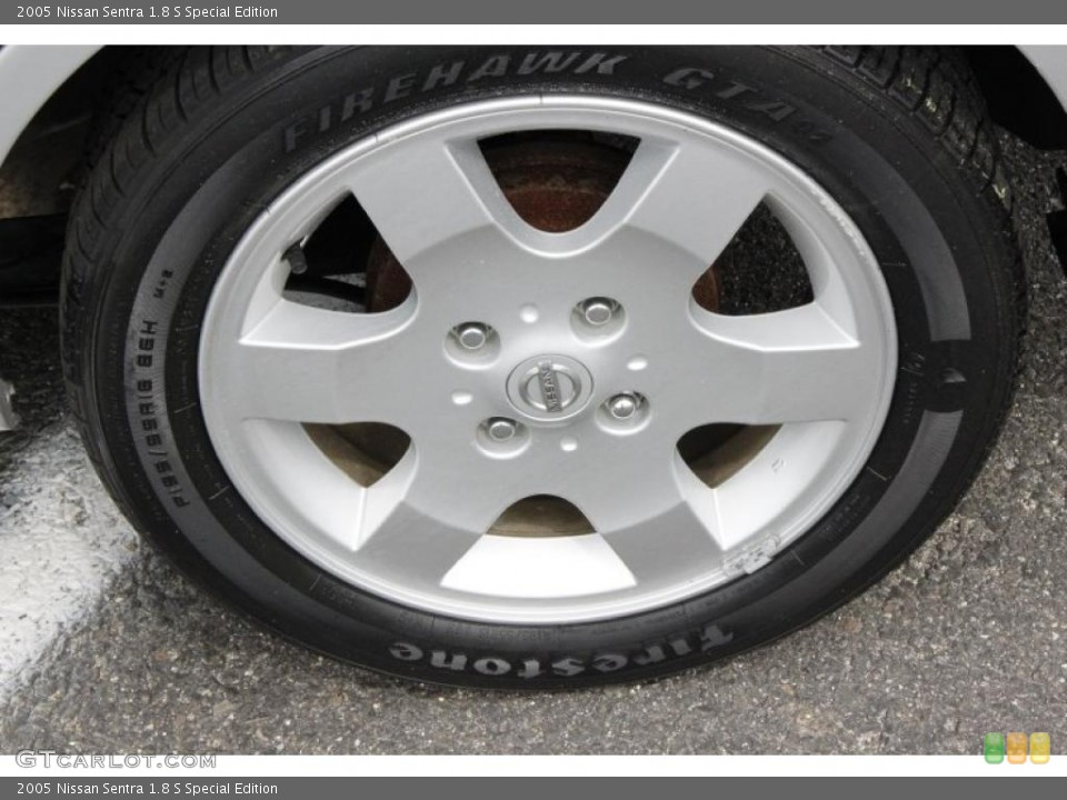 2005 Nissan Sentra 1.8 S Special Edition Wheel and Tire Photo #49809462