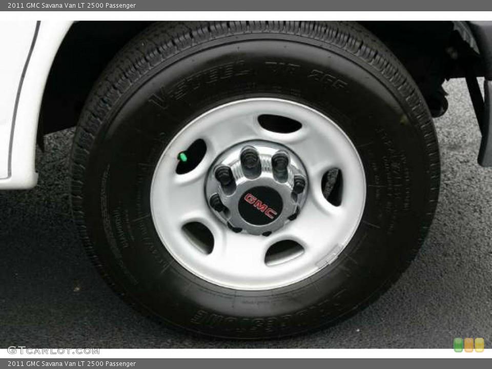 2011 GMC Savana Van Wheels and Tires