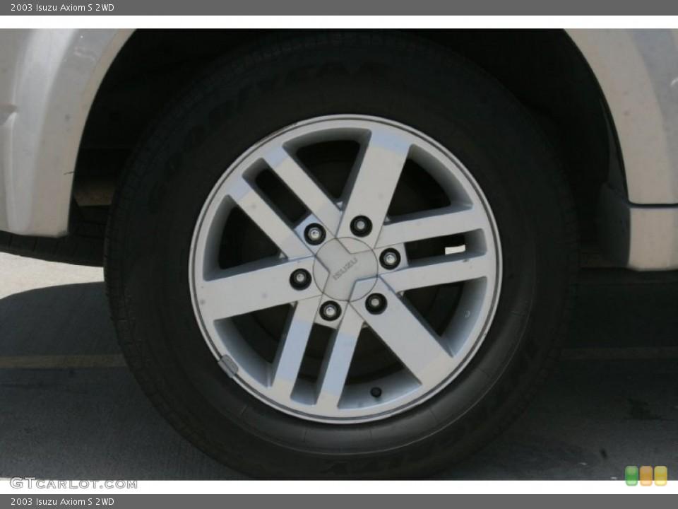 2003 Isuzu Axiom Wheels and Tires