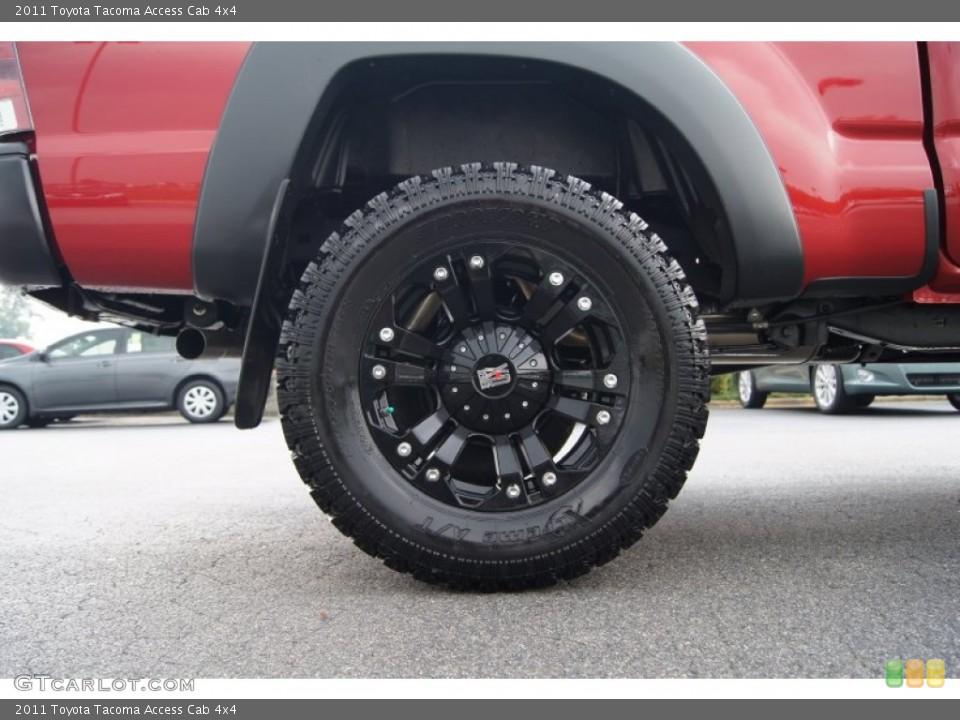 Tacoma Custom Wheels 2011 Toyota Tacoma Custom