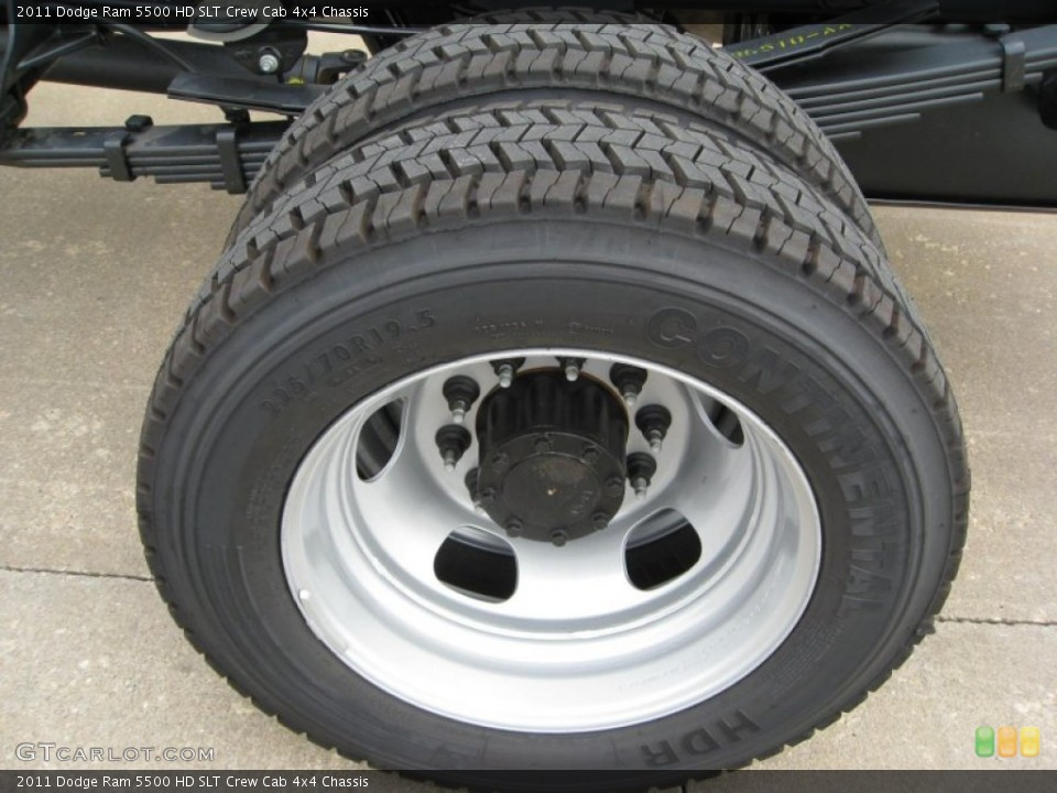 2011 Dodge Ram 5500 HD Wheels and Tires